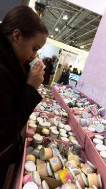 Fay from Alari Magazine caught searching for the perfect scent